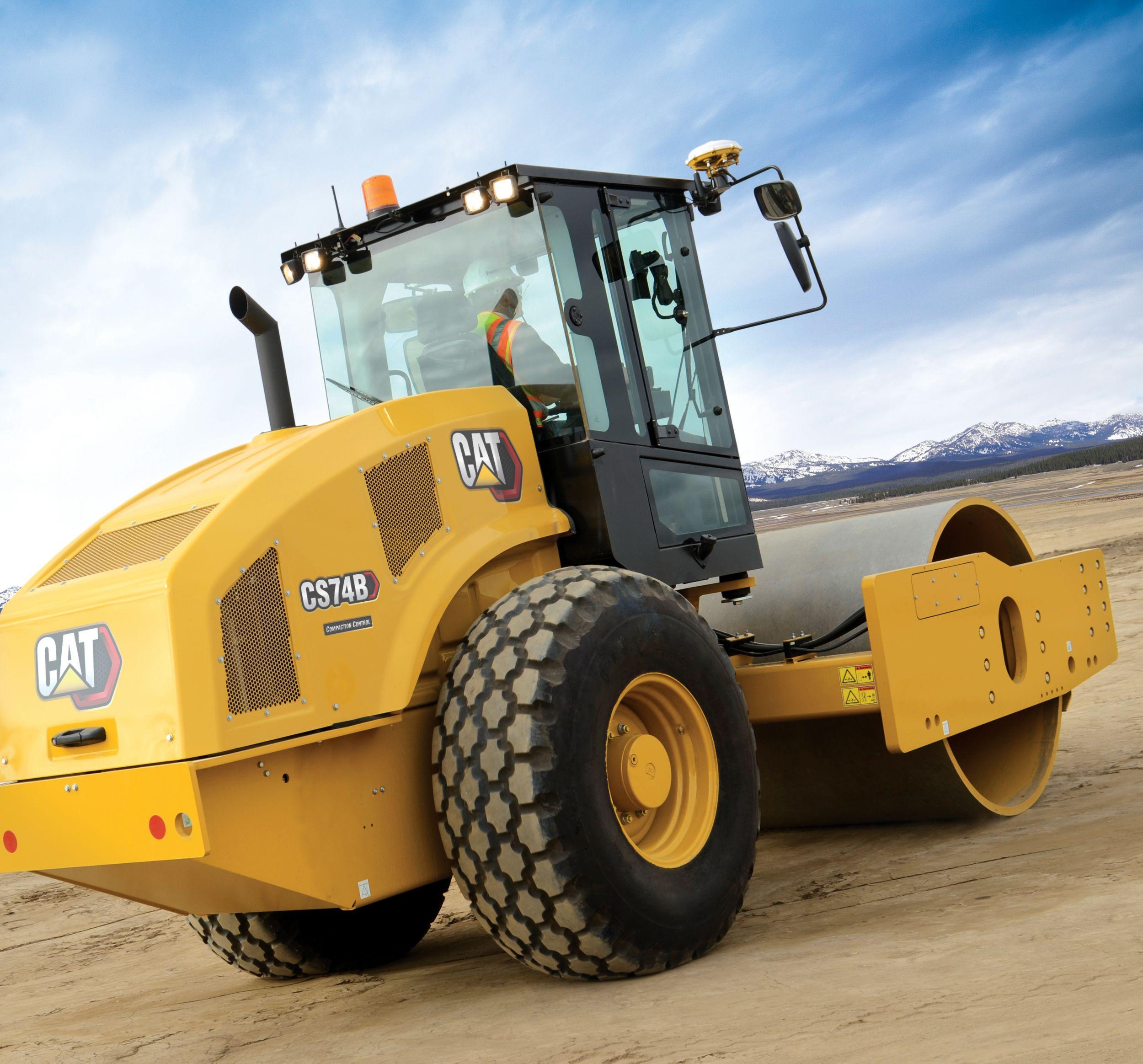 CS74B Vibratory Soil Compactor>