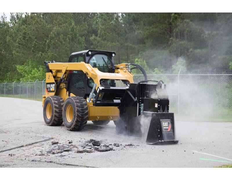 Cat® SW345B Wheel Saw Cutting Concrete