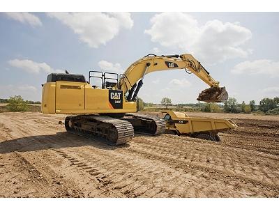 Rental Caterpillar 349f L Hydraulic Excavator Cleveland