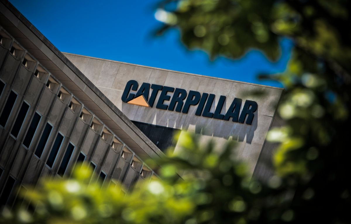 Caterpillar Building