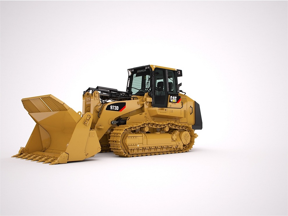 Cat  Traxcavator For Sale