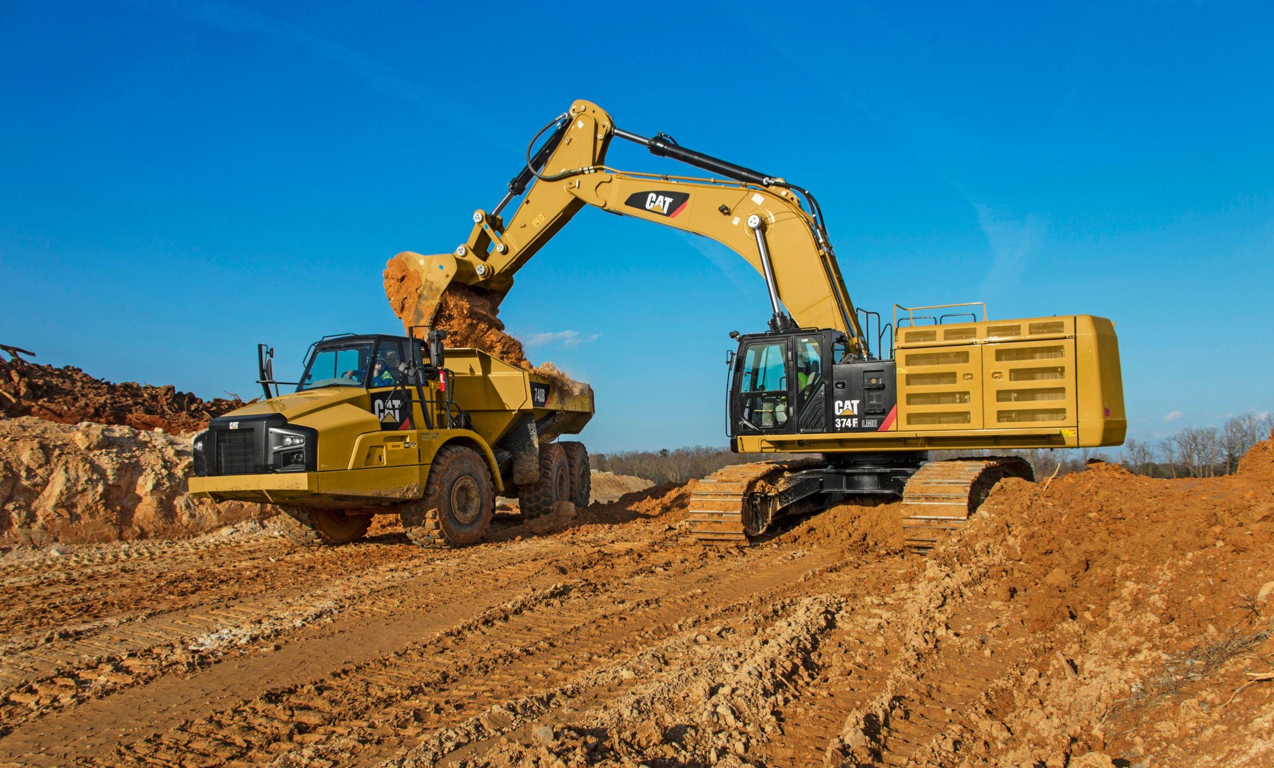 Cat   374F L Hydraulic Excavator   Caterpillar