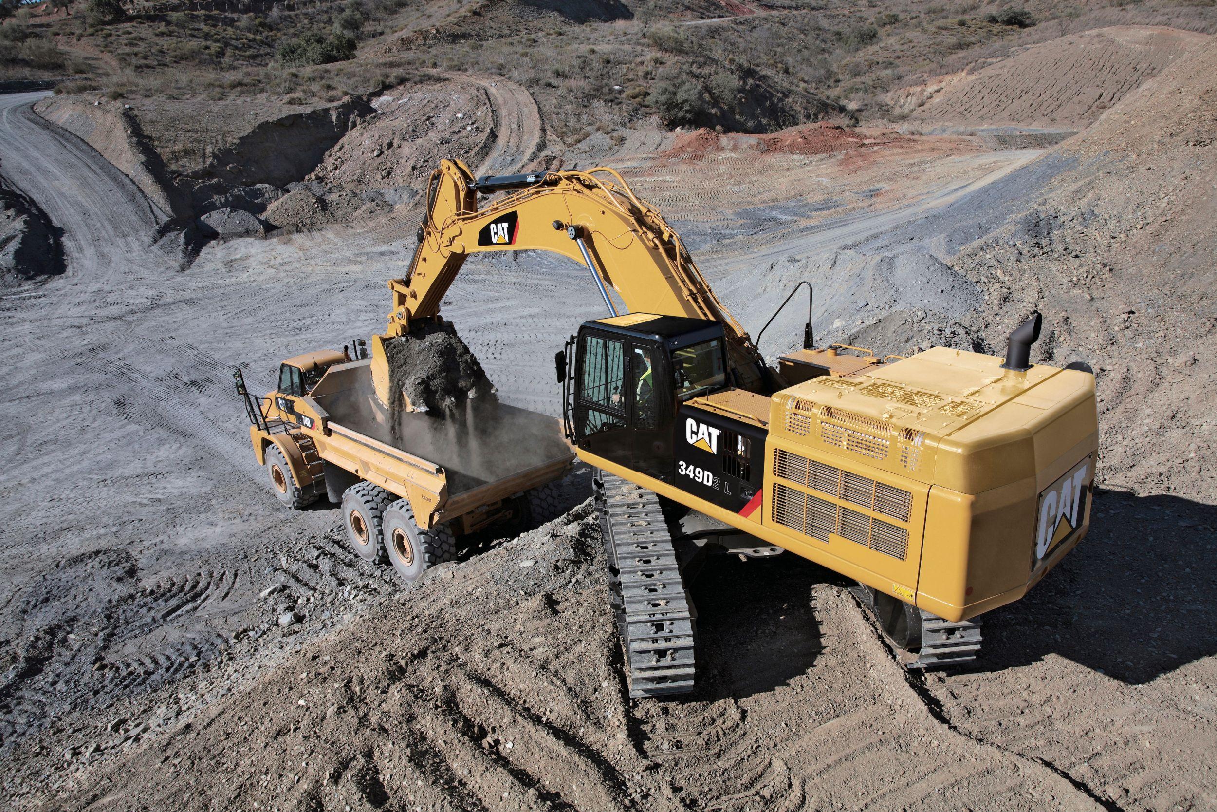 Excavadora Hidráulica Grande 349D2 L