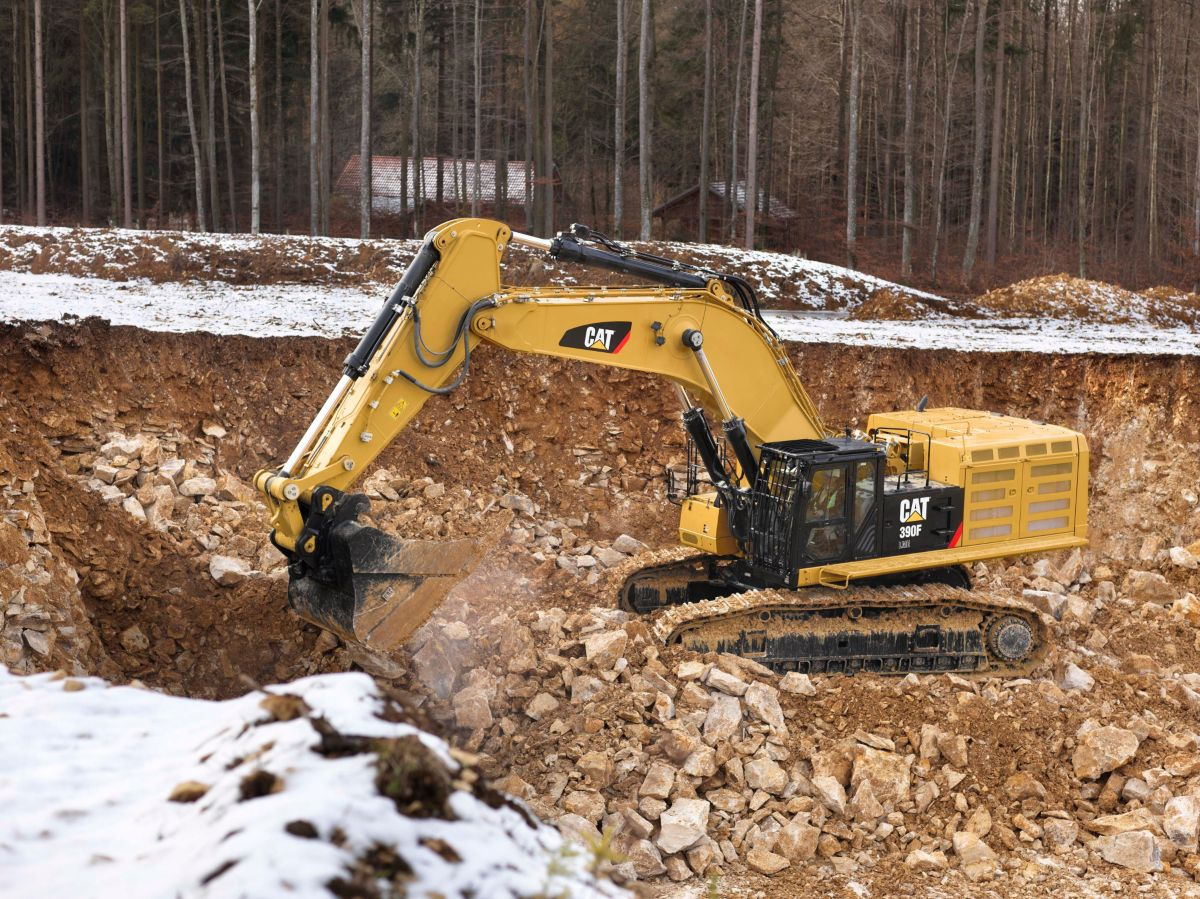 Cat | 390F L Hydraulic Excavator | Caterpillar