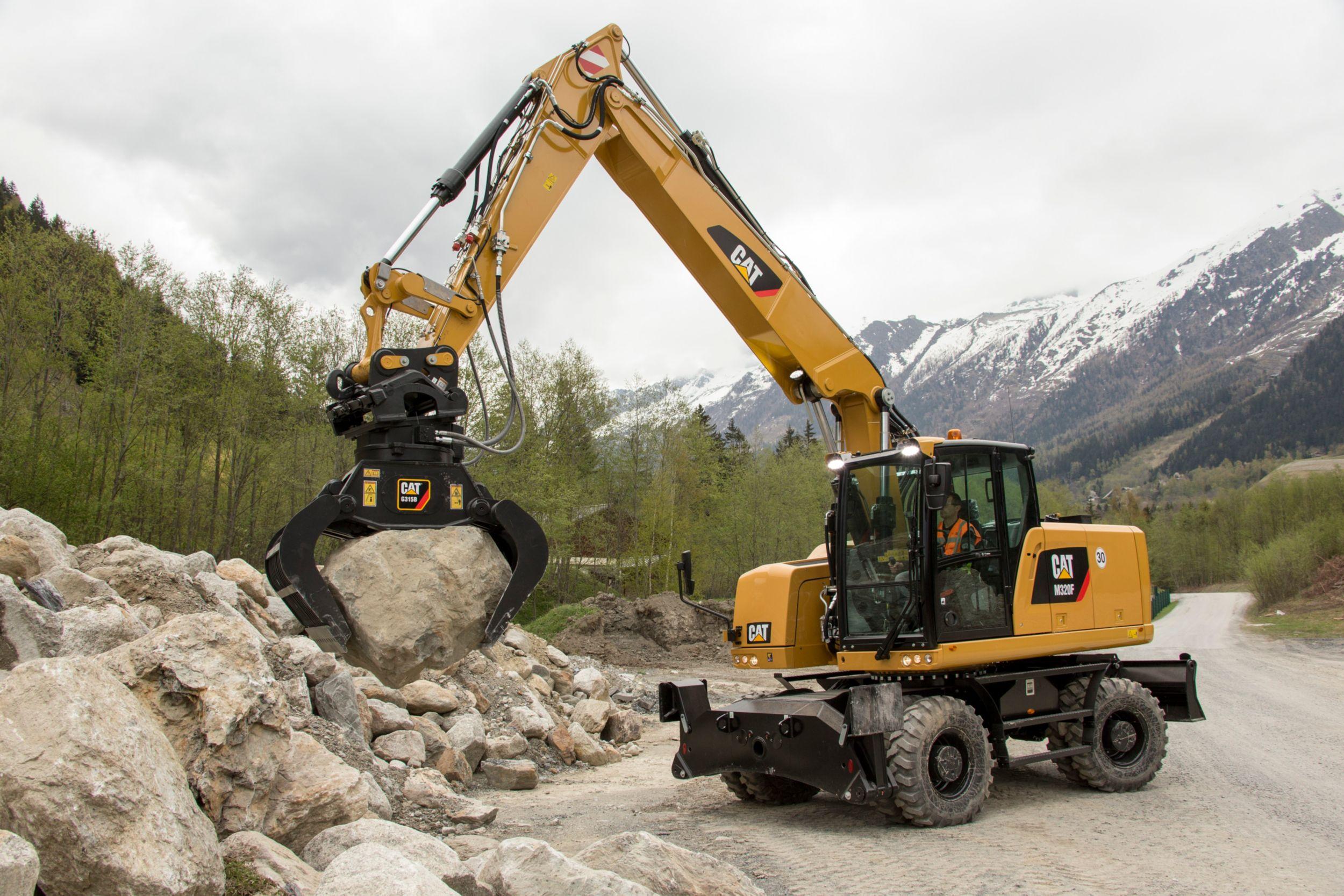 G324 Demolition & Sorting Grapple