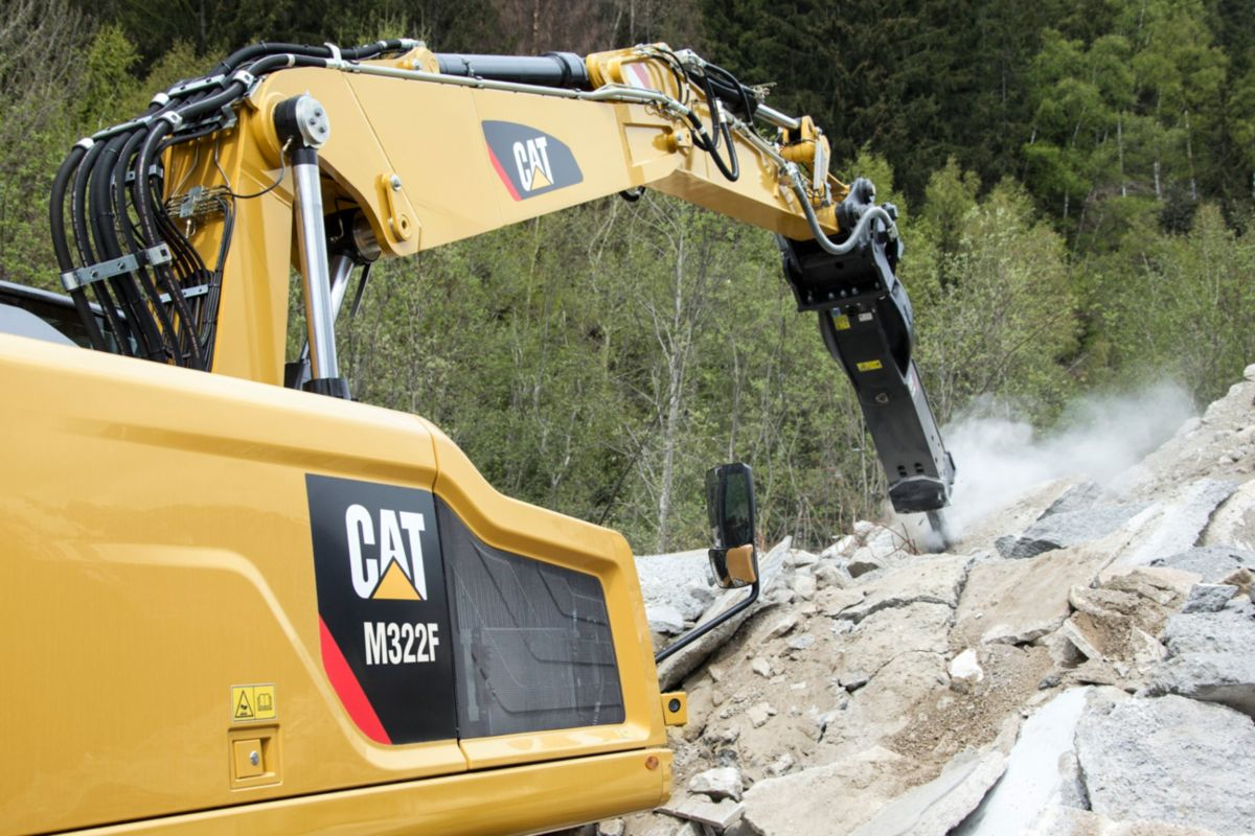M322F Wheeled Excavator>