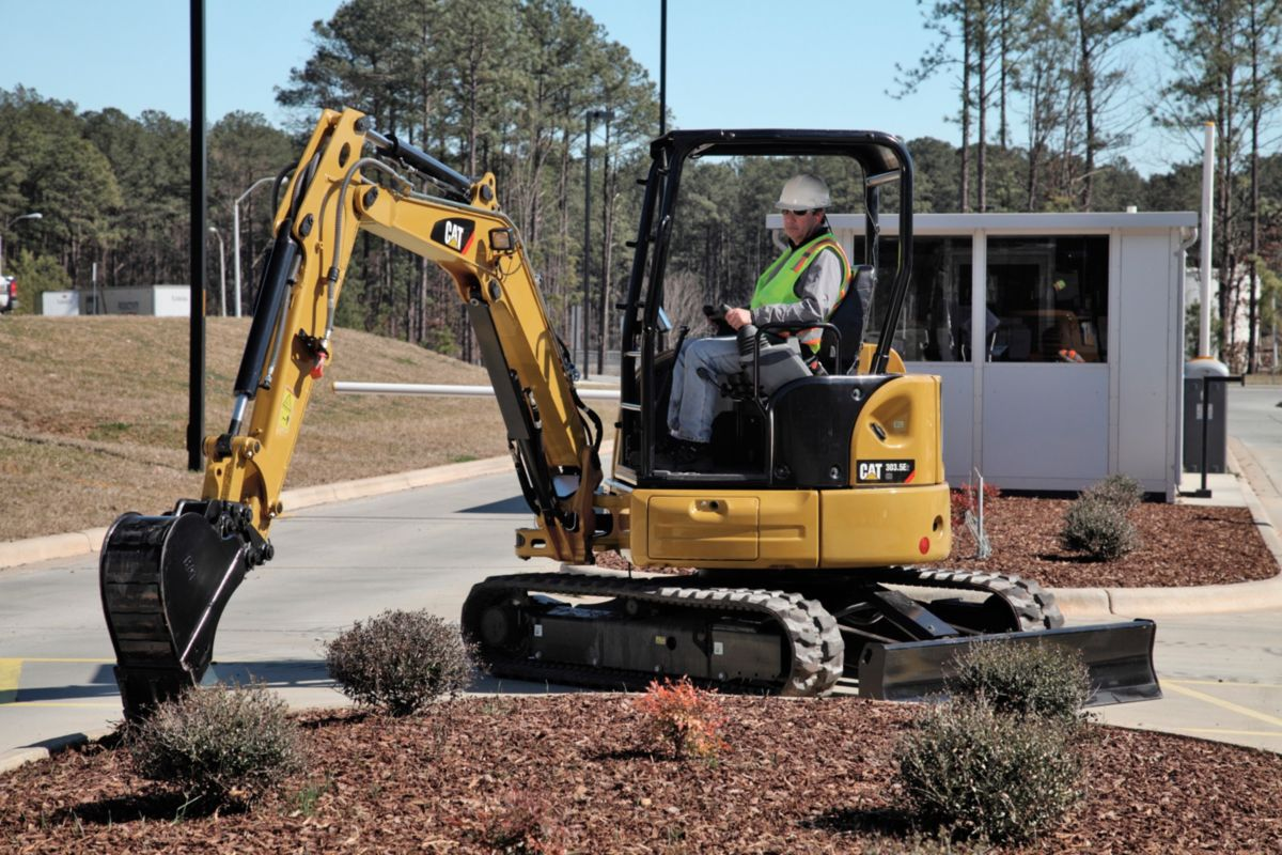 303.5E2 CR Mini Excavator
