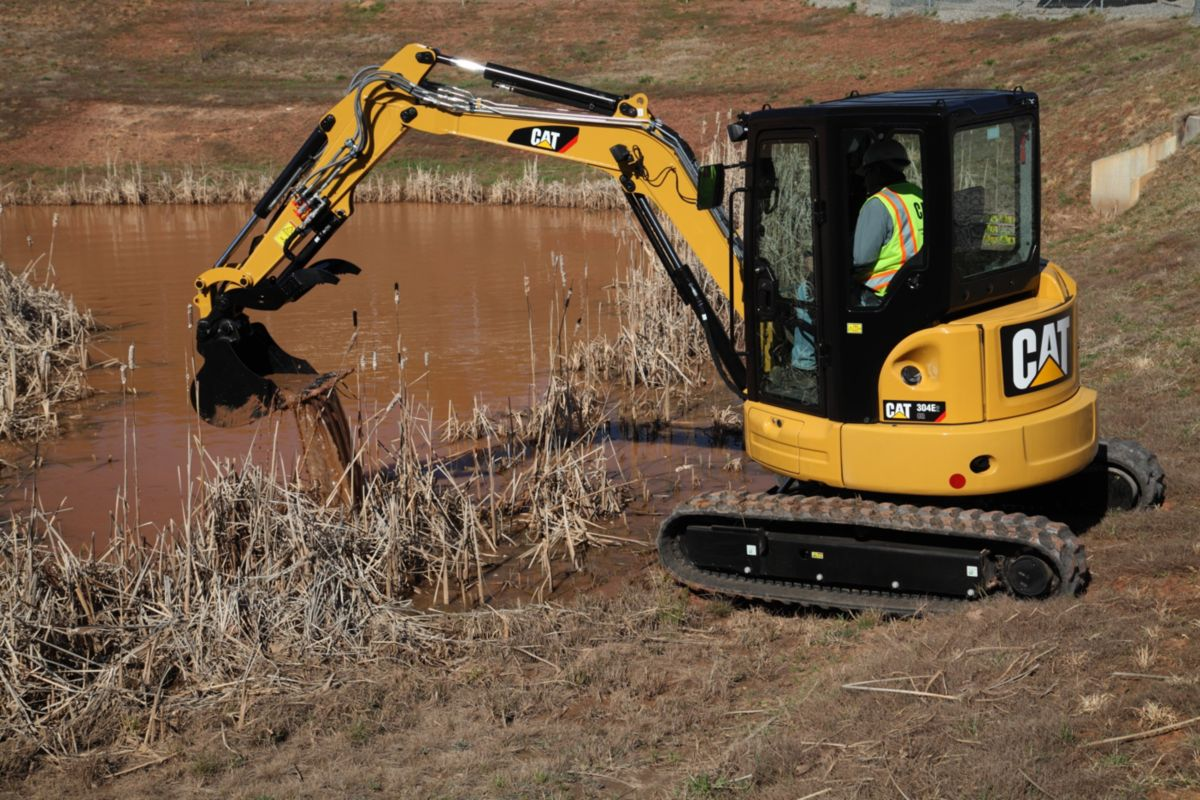 304E2 CR Mini Hydraulic Excavator>