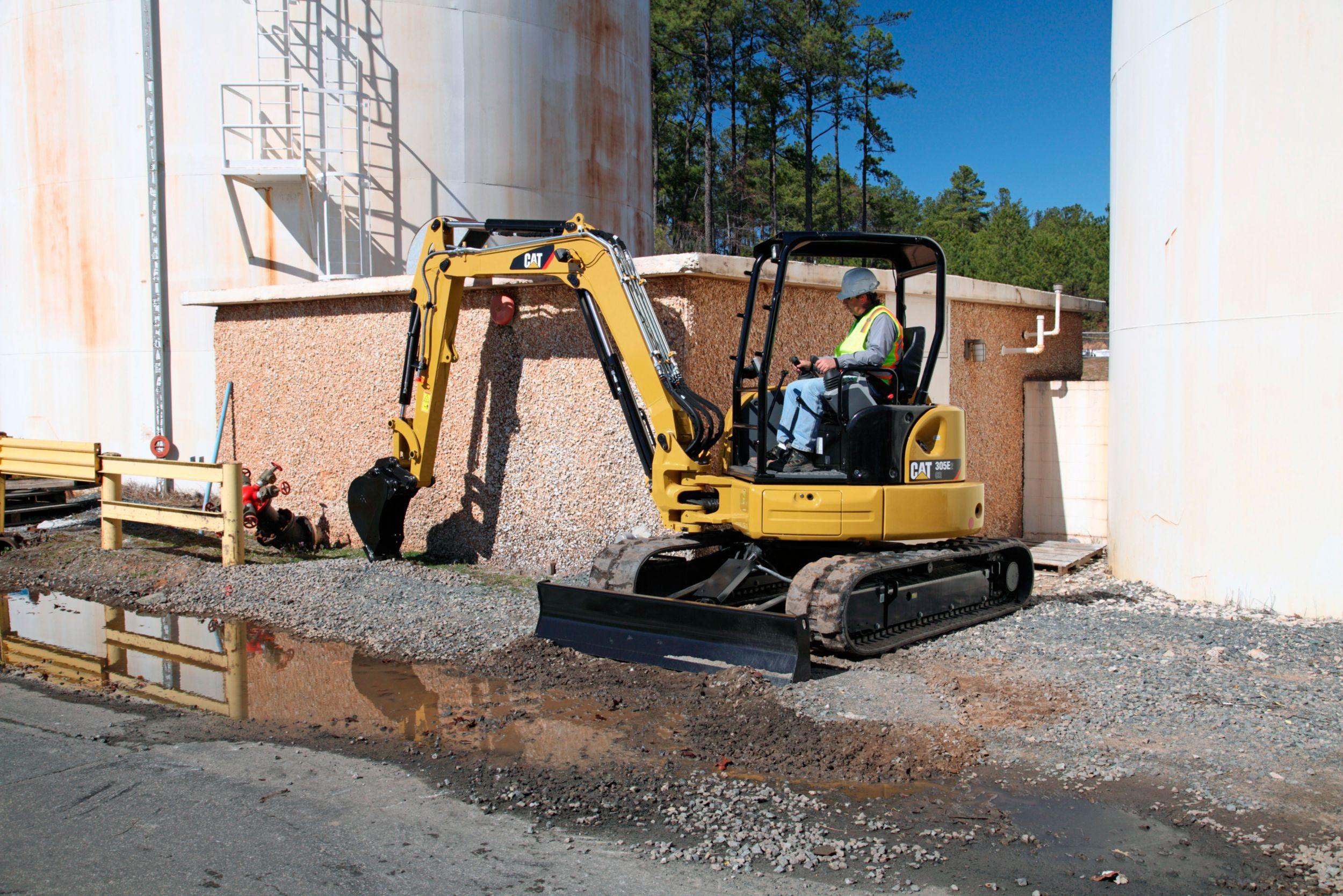 305E2 CR Mini Excavator