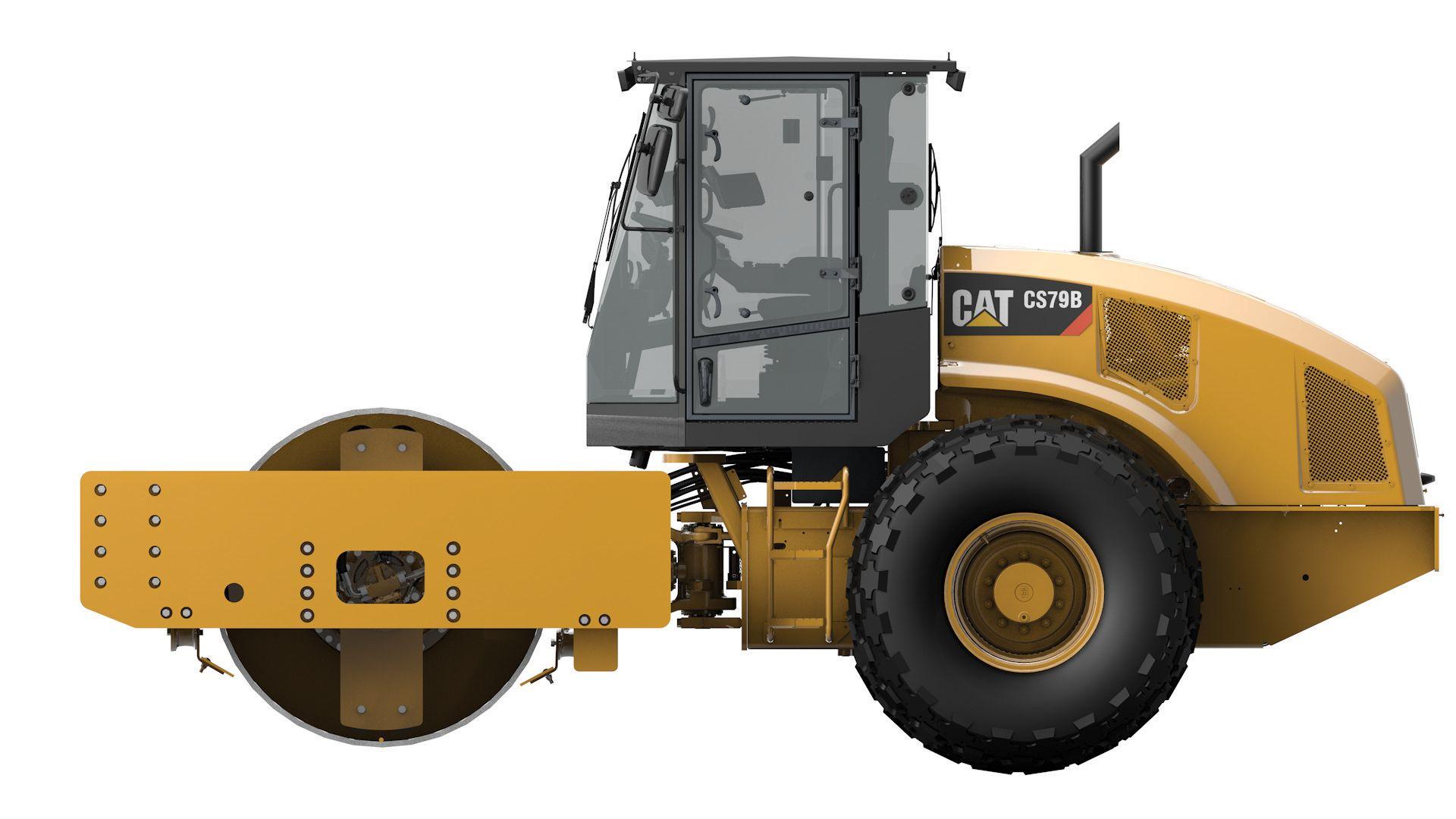 product-CS79B Vibratory Soil Compactor