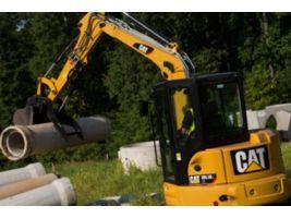 305.5E2 CR Mini Hydraulic Excavator with Swing Boom