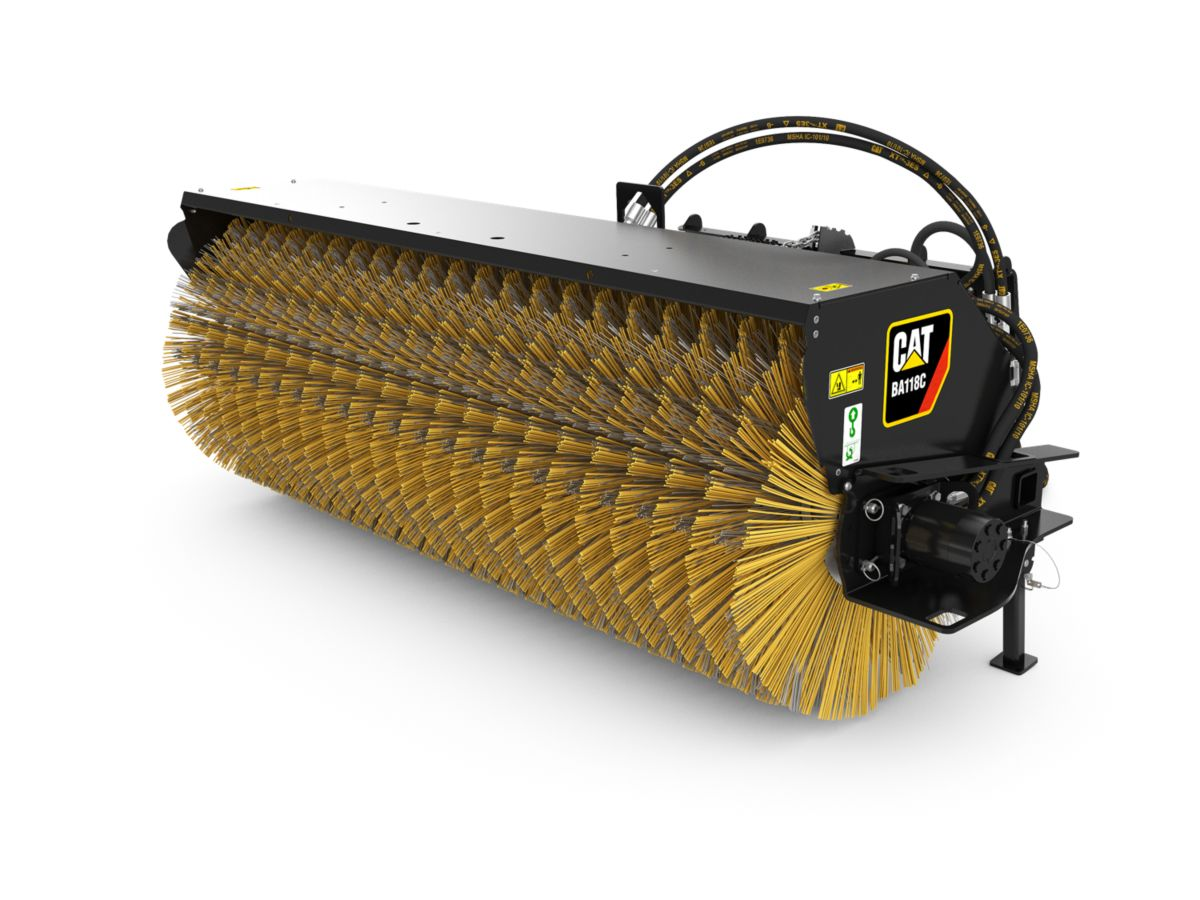 New Ba118c Hydraulic Angle Broom Equipment Id