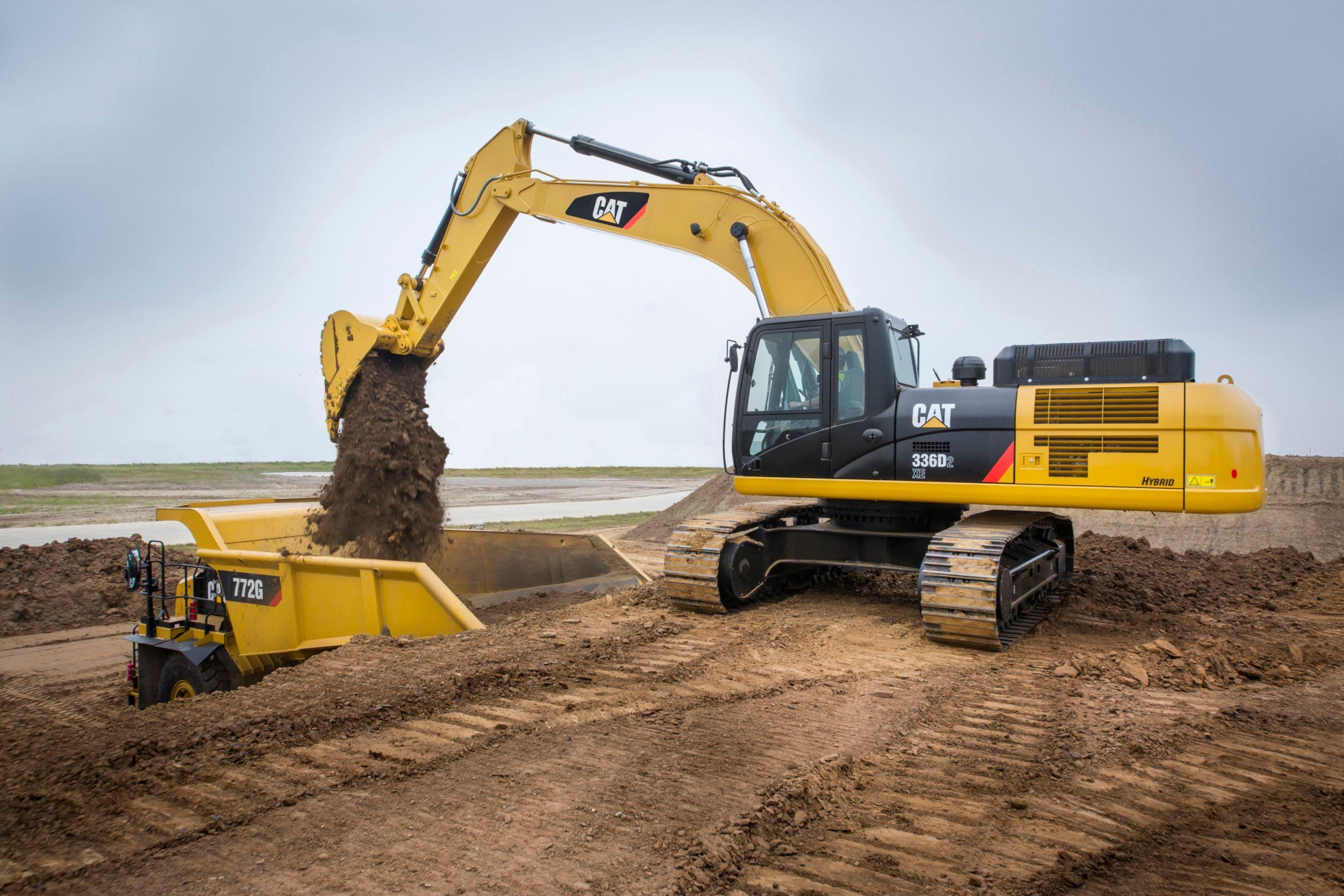 Excavadora Hidráulica Grande 336D2 XE/D2 L XE