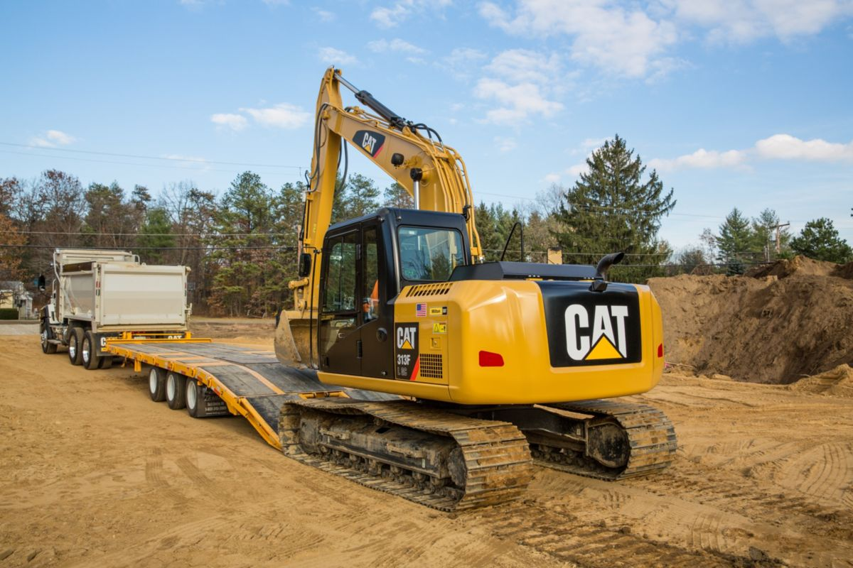 Transporting 313F GC Hydraulic Excavator>