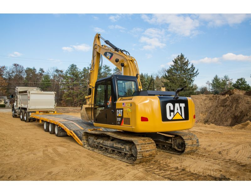 Transporting 313F GC Hydraulic Excavator
