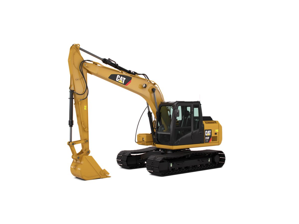 313F GC Hydraulic Excavator marketing ready geometry