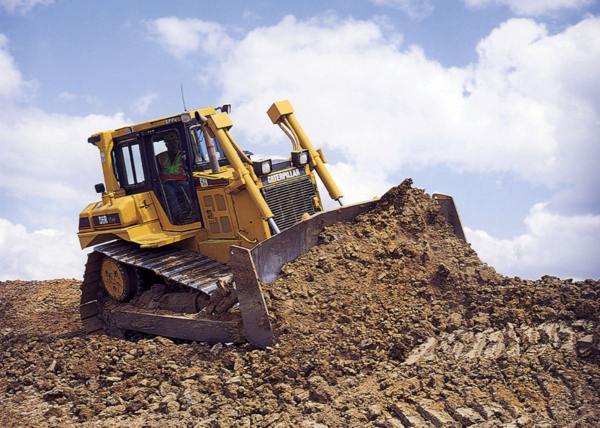 0% on New Cat Medium Dozer D6R