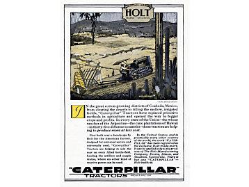 First Holt Caterpillar