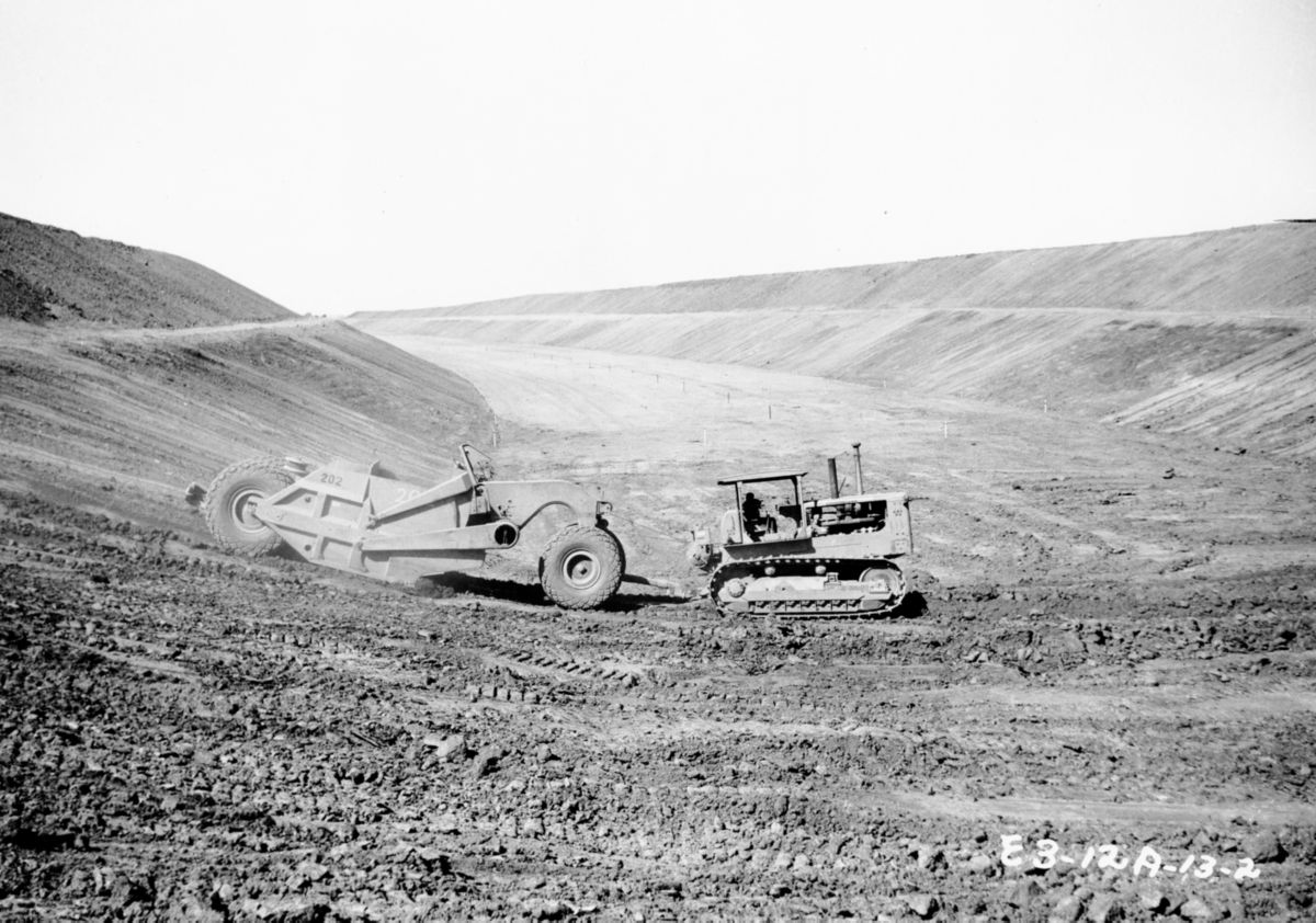 Managil Dam, 1957