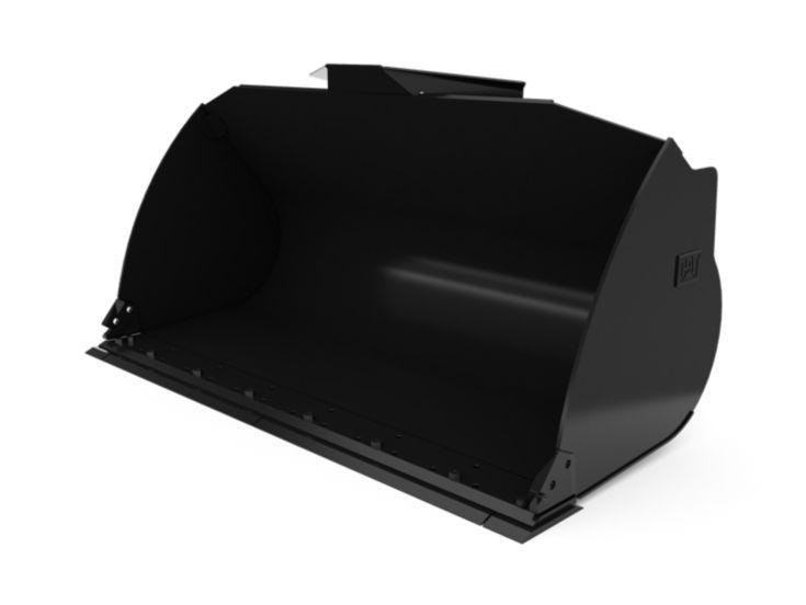 Buckets - Loader - 2.9 m3 (3.8 yd3), Fusion™ Coupler, Bolt-On Cutting Edge