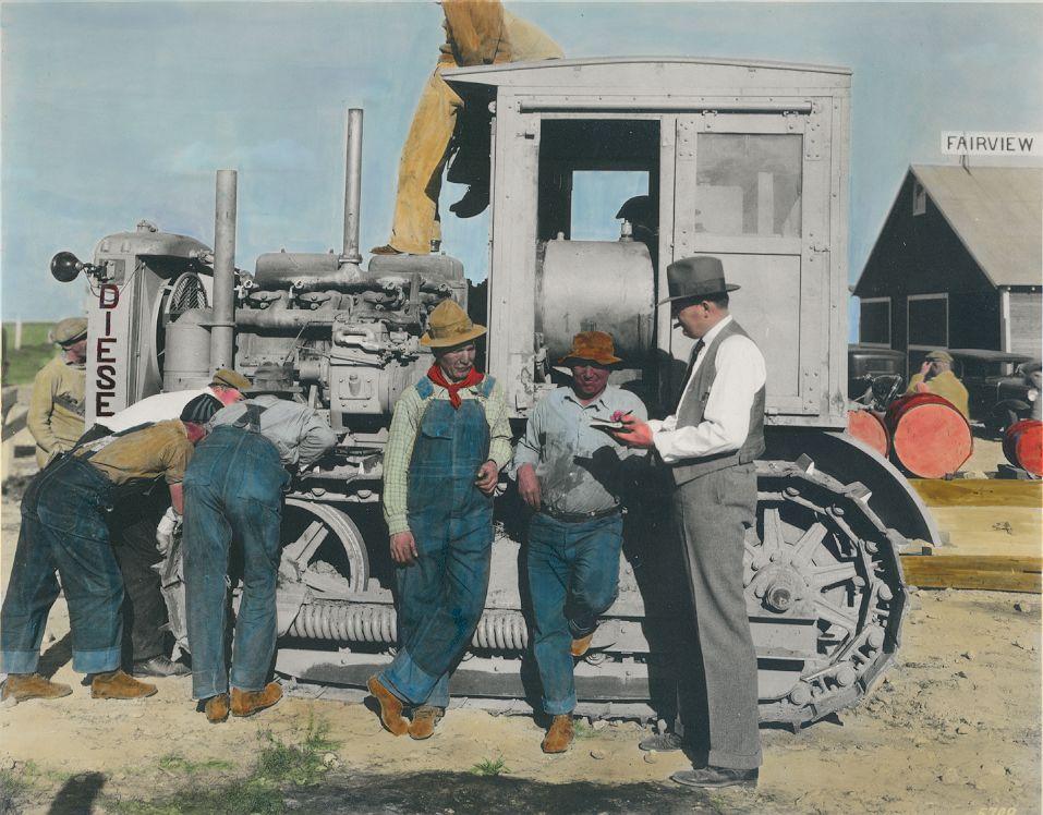 Caterpillar Diesel Sixty 1C12, 1932