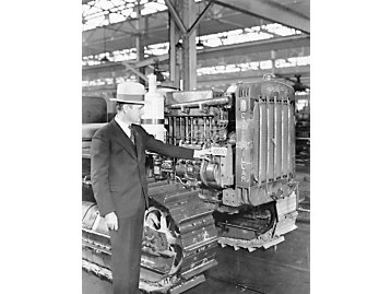10,000th Caterpillar diesel tractor, 1935.