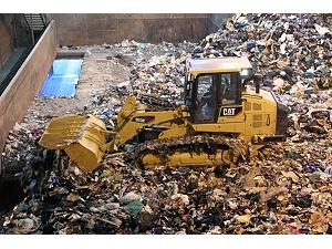963K WH Waste Handler Track Loader