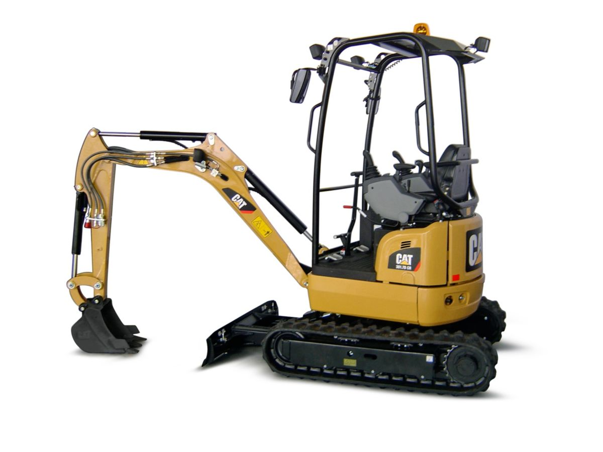 301.7D CR Mini Hydraulic Excavator