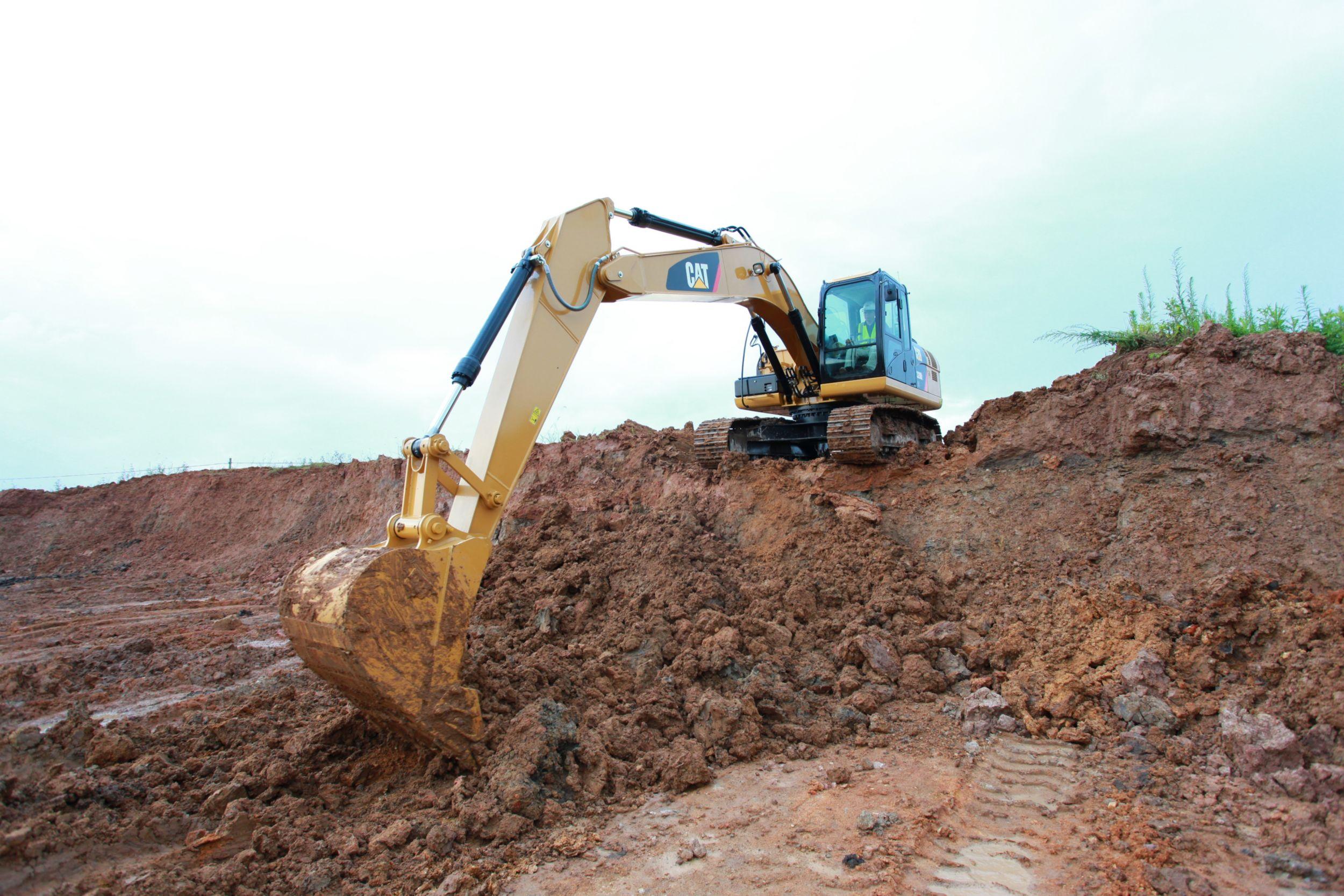 Excavadora Hidráulica Mediana 320D2 GC