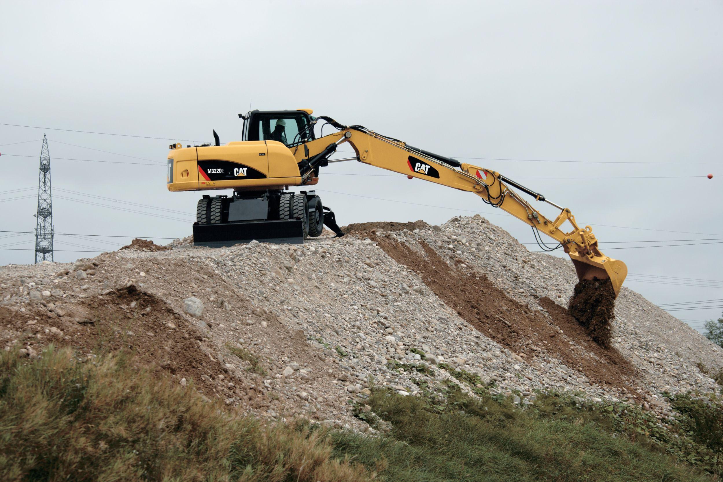 Excavadora de Ruedas M322D2
