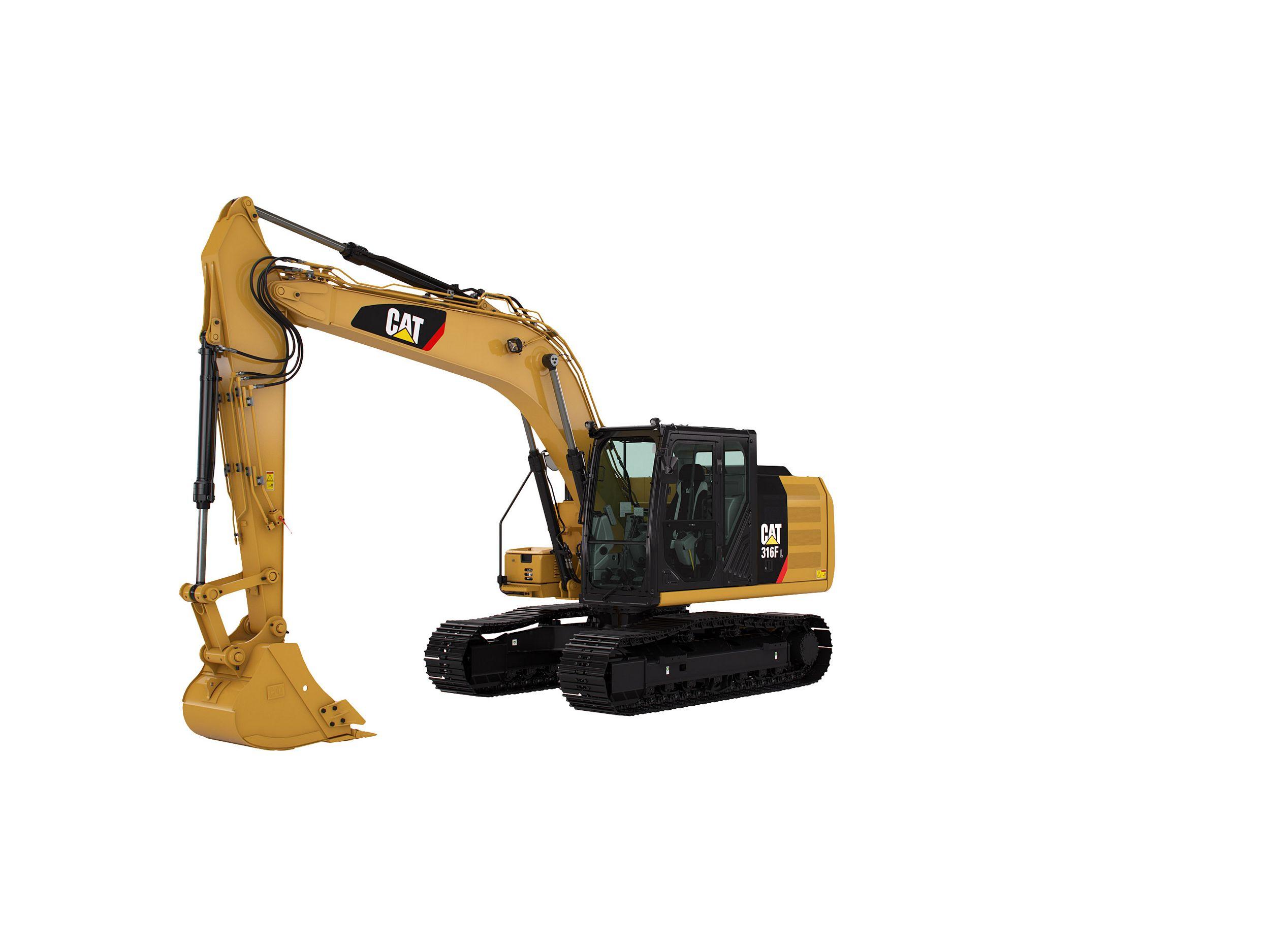 316F L Hydraulic Excavator marketing ready geometry