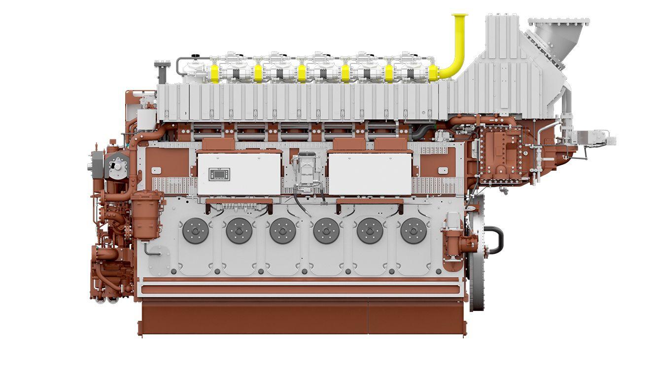 M 34 DF Marine Propulsion Engine