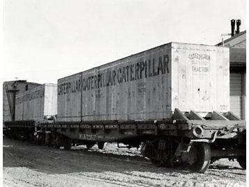 Tractores Caterpillar exportados a África, 1926.