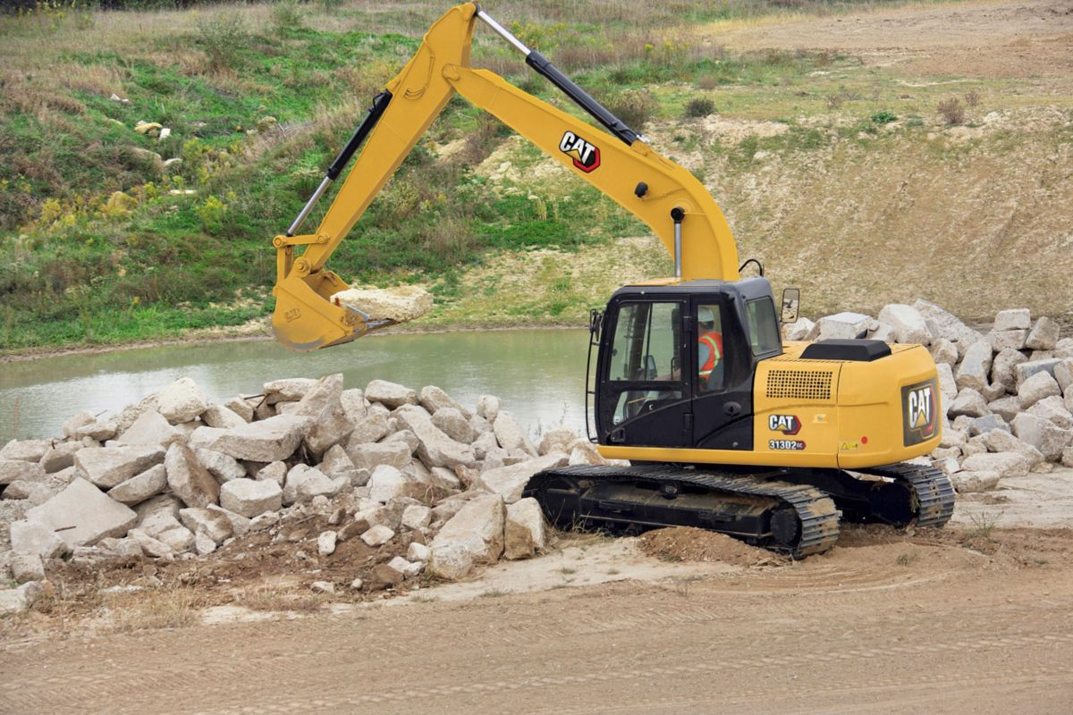 Low Down-Payment on New Cat® Small Hydraulic Excavators