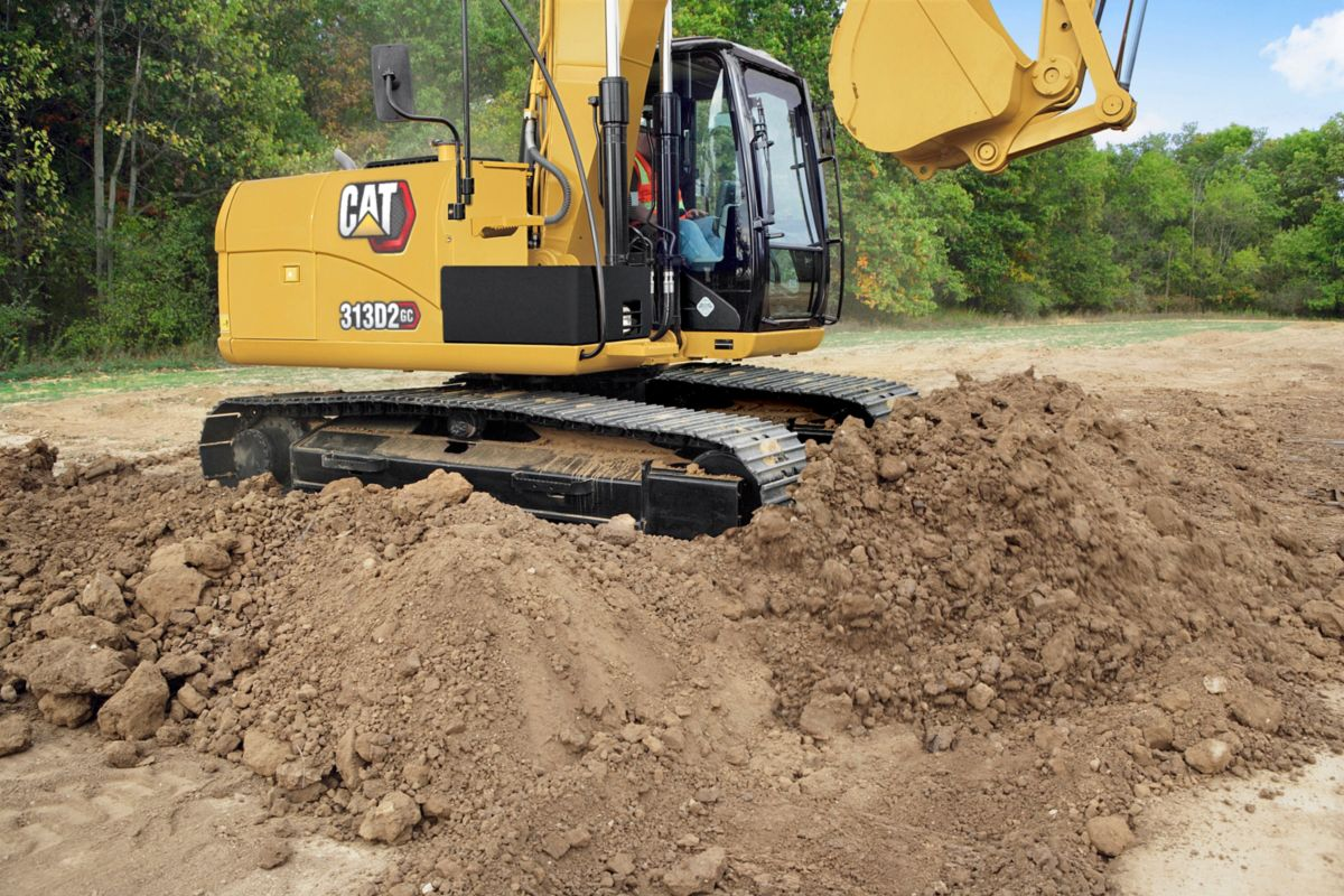 Excavadora Hidráulica Pequeña 313D2 GC