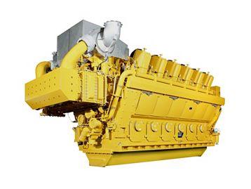 Engine Gas G12CM34 - Gas Compression Engines