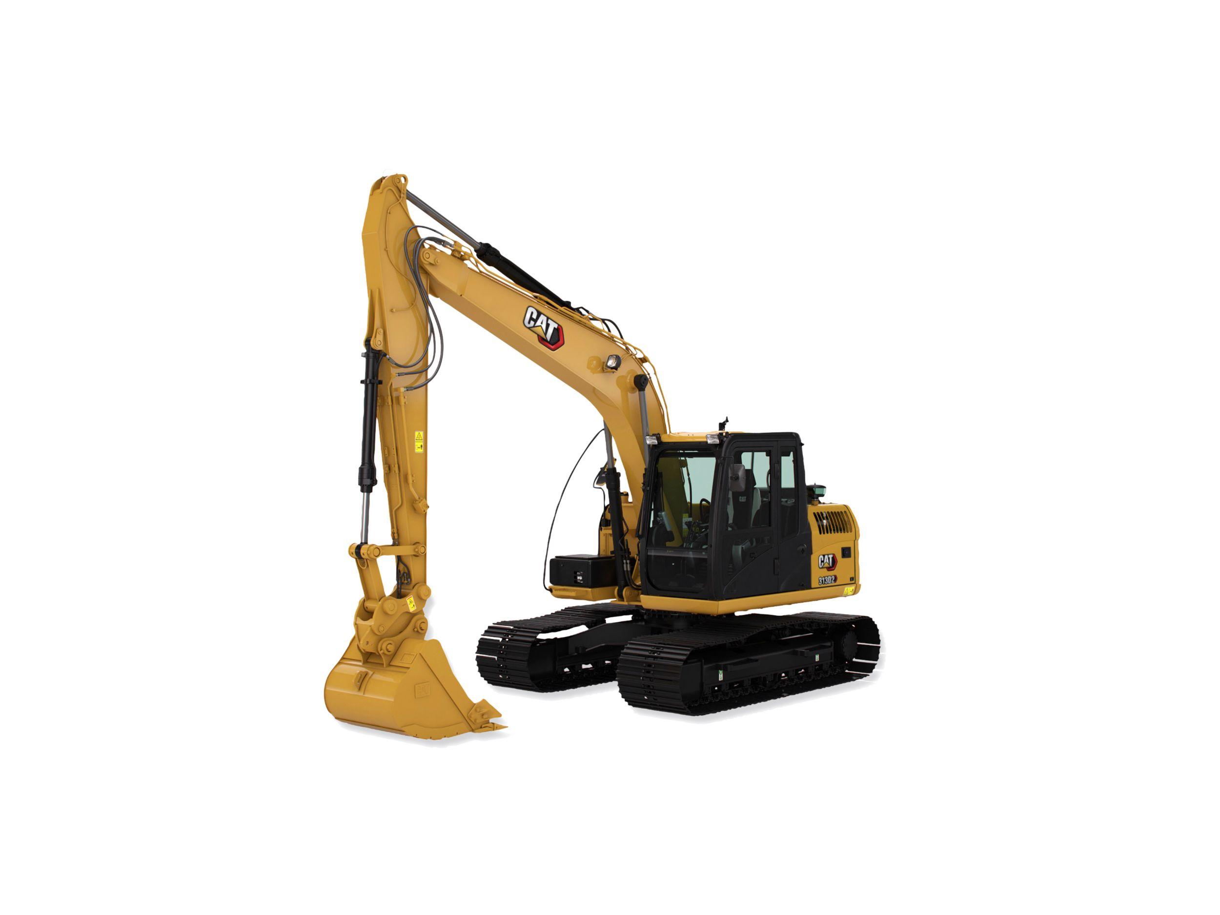 Excavadora Hidráulica Pequeña 313D2L