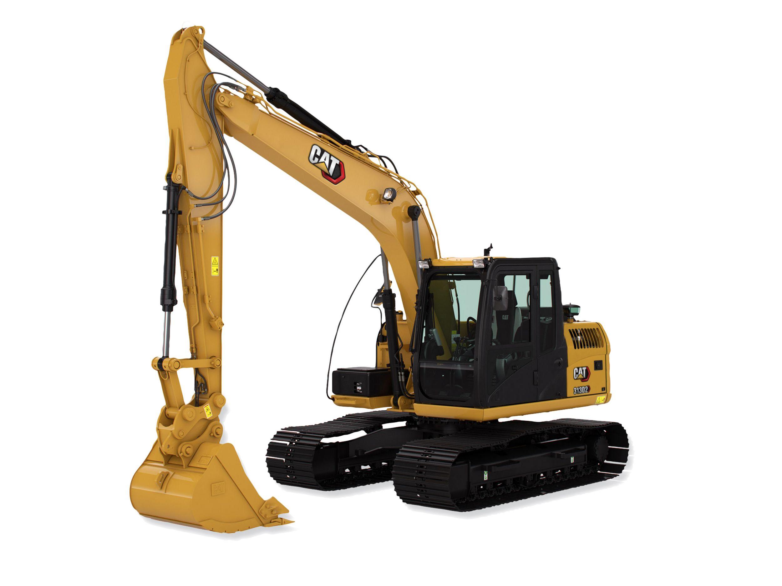 313D2L excavators