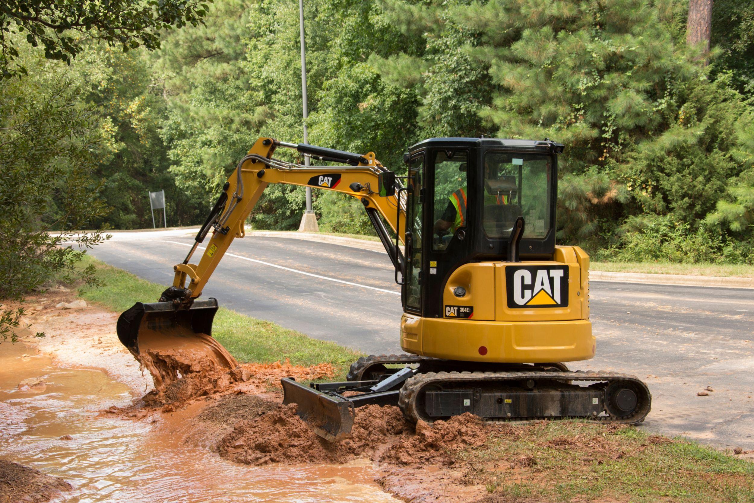 304E2 CR Mini Excavator