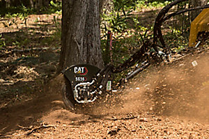 Cat® SG18B Stump Grinder at Work