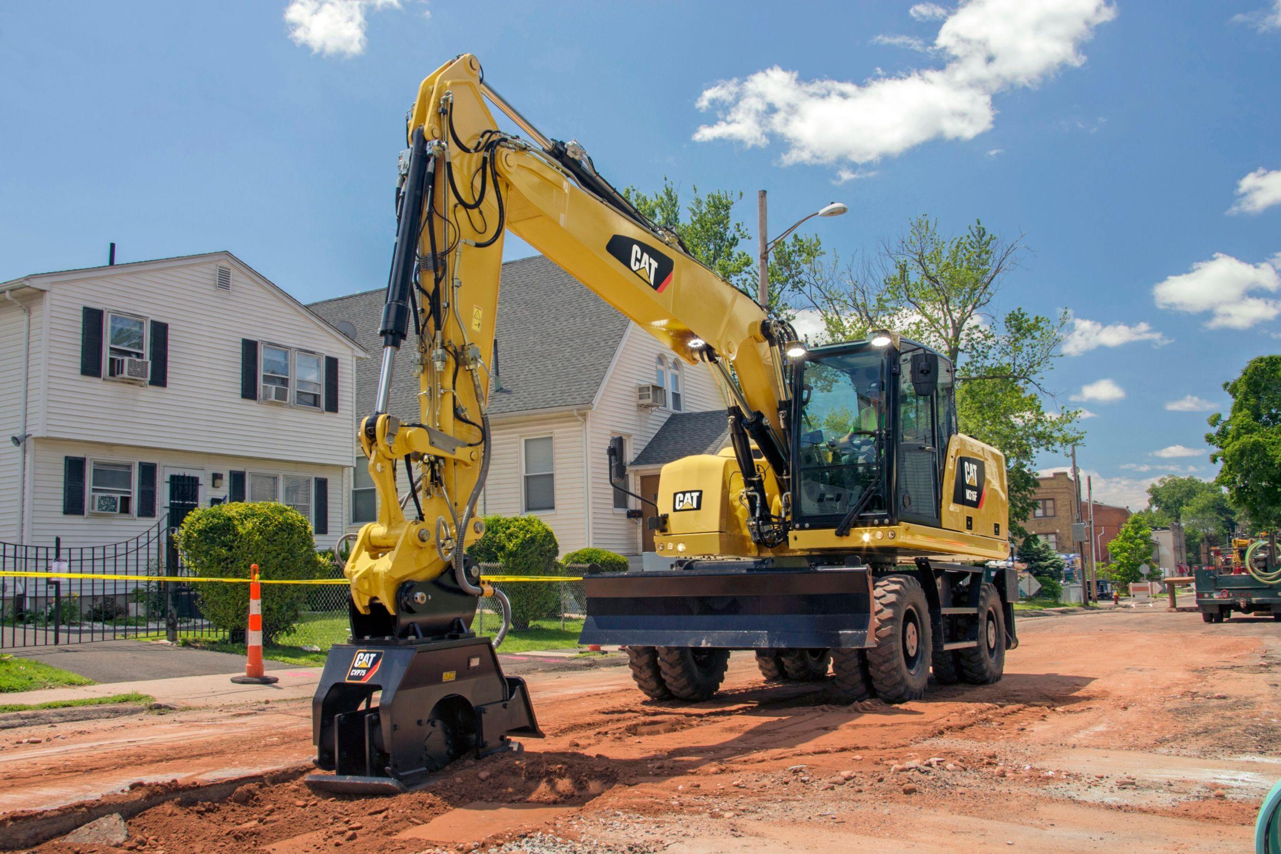 M316F Wheeled Excavator>