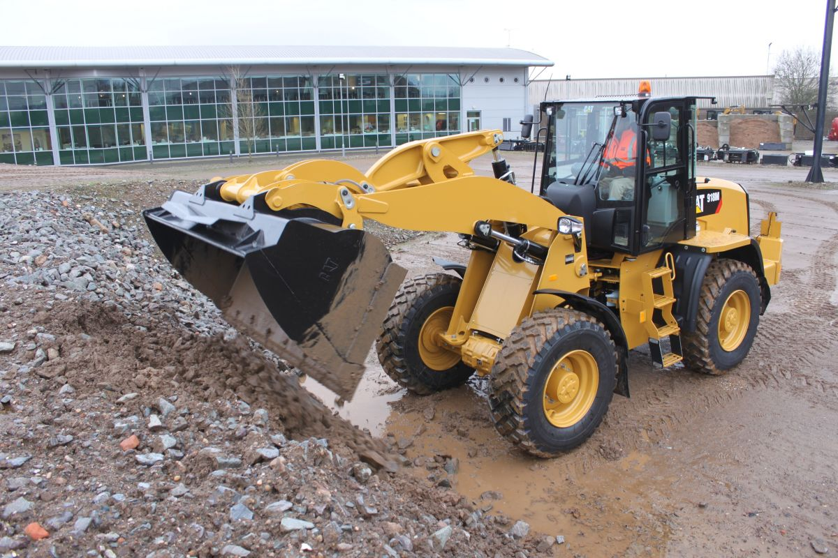 918M Compact Wheel Loader>