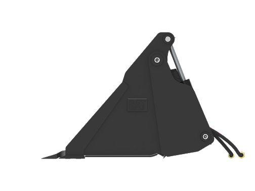 1524 mm (60 in) Bolt-On Teeth - Multi-Purpose Buckets