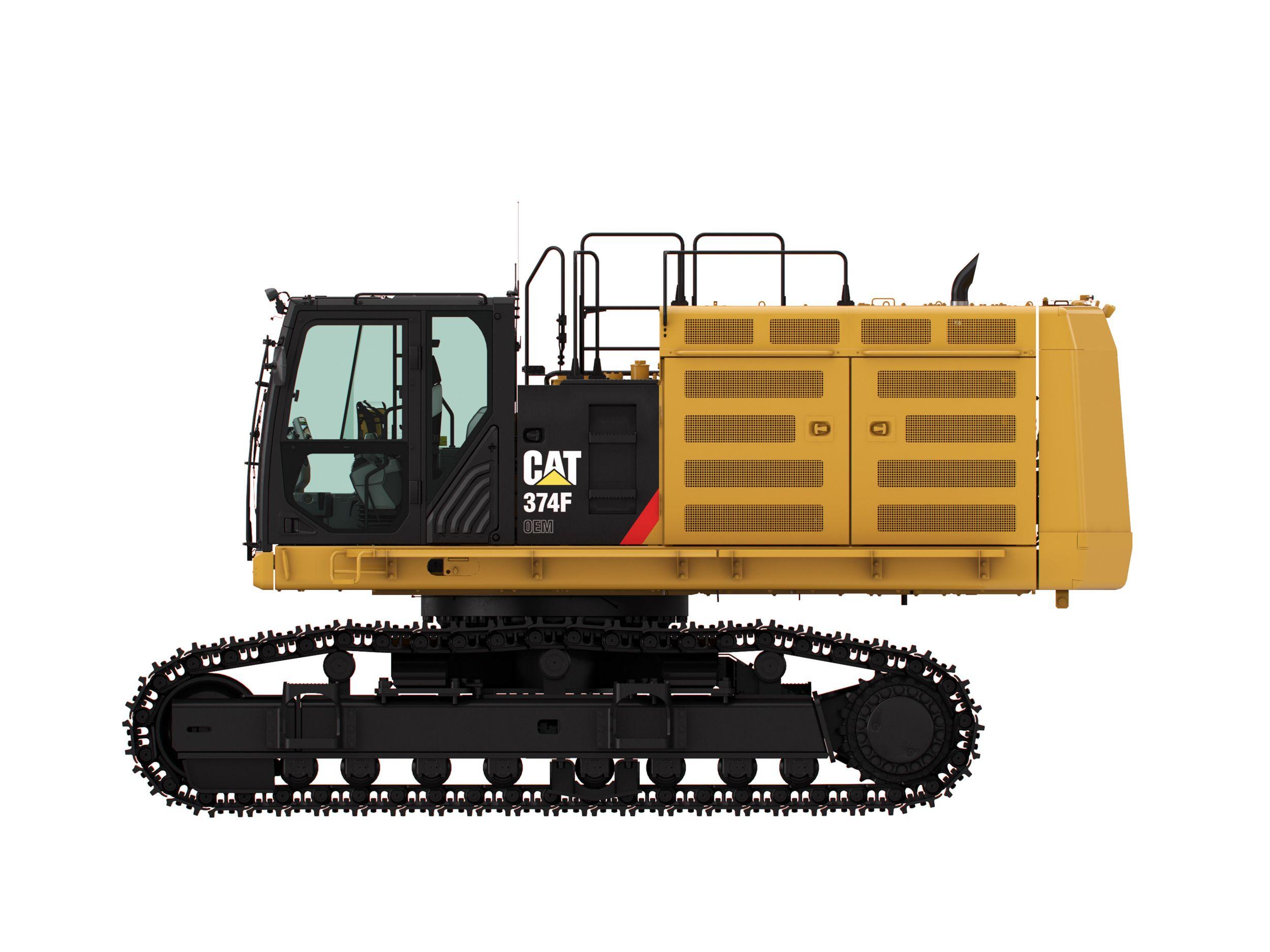 374F Frontless Excavator