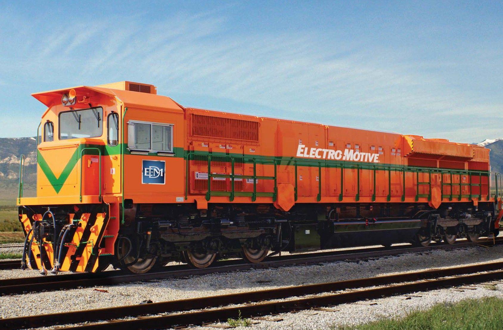 GT46AC Asia EMD Locomotive
