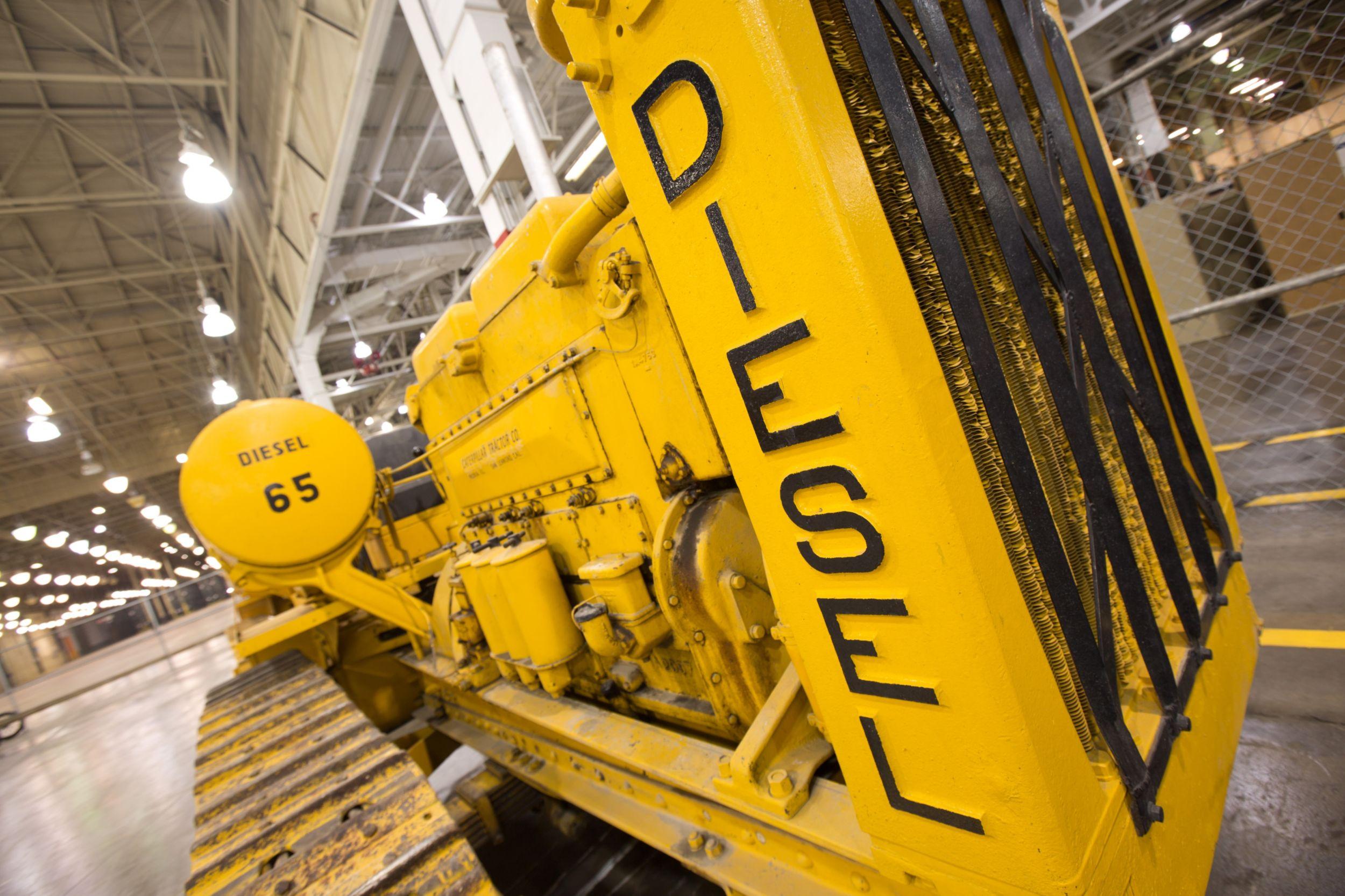 Caterpillar Diesel Sixty Track-Type Tractor, 1C14, 2015.