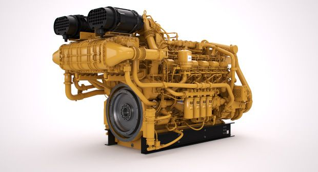 3512E Tier 4 Land Electric Drive Drilling Engine