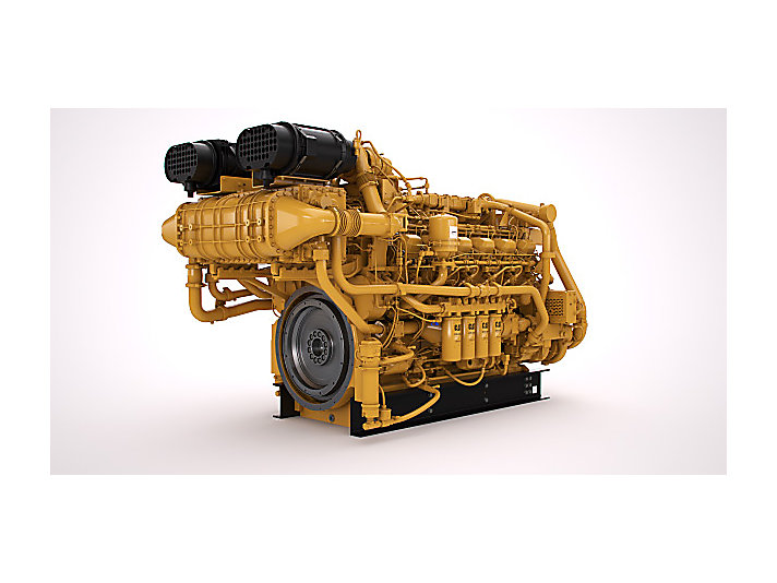 3512E Tier 4 Land Electric Drive Drilling Engine (Image shown may not reflect actual configuration)