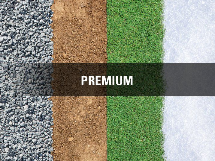 Premium Purpose suitable for Dirt, grass, and snow. Ok on Gravel.