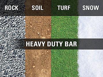Premium Purpose suitable for Dirt, Gravel, grass. Ok on snow.